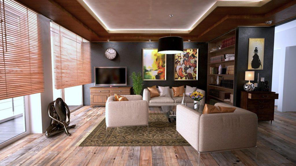 Custom home interior in Tucson
