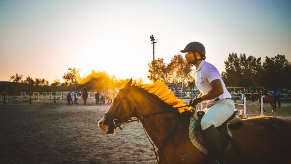 Equestrian at the Pima County Fair