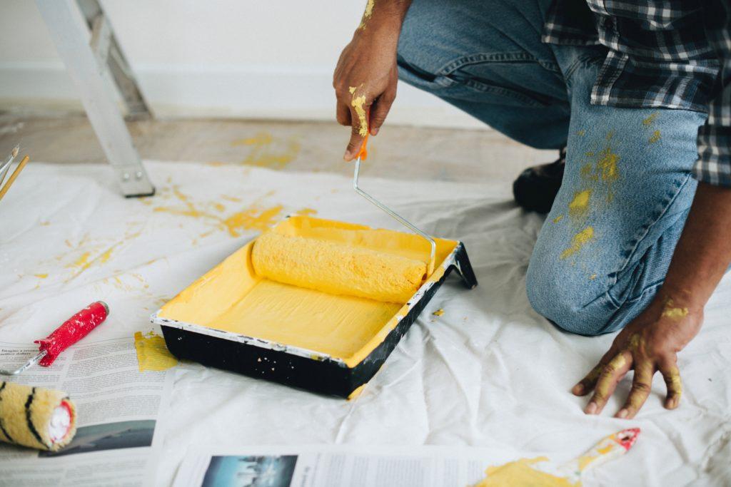 wall painter brush