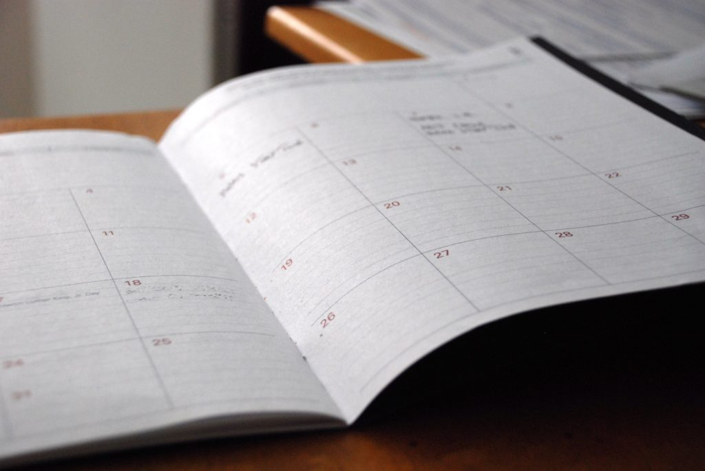 calendar scheduling appointments