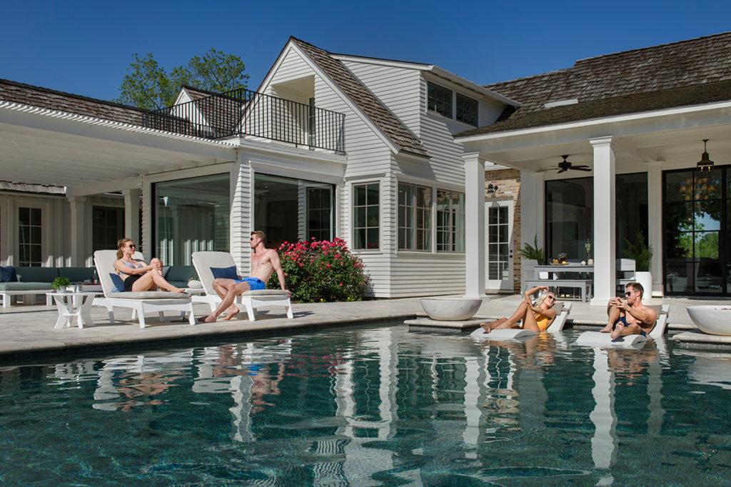 Backyard Pool Trend Alert: Tanning Ledges! - Grogan & Grogan